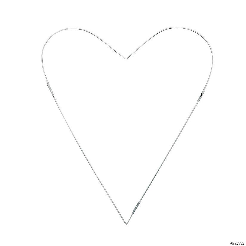 Metallic Heart-Shaped Balloon Frame - Discontinued