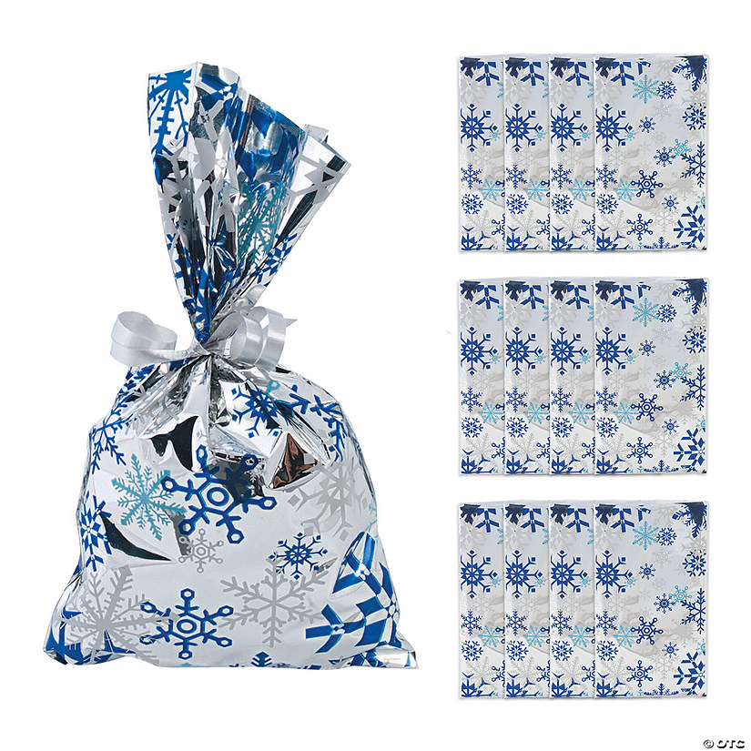 Metallic Snowflake Treat Bags Audio Thumbnail
