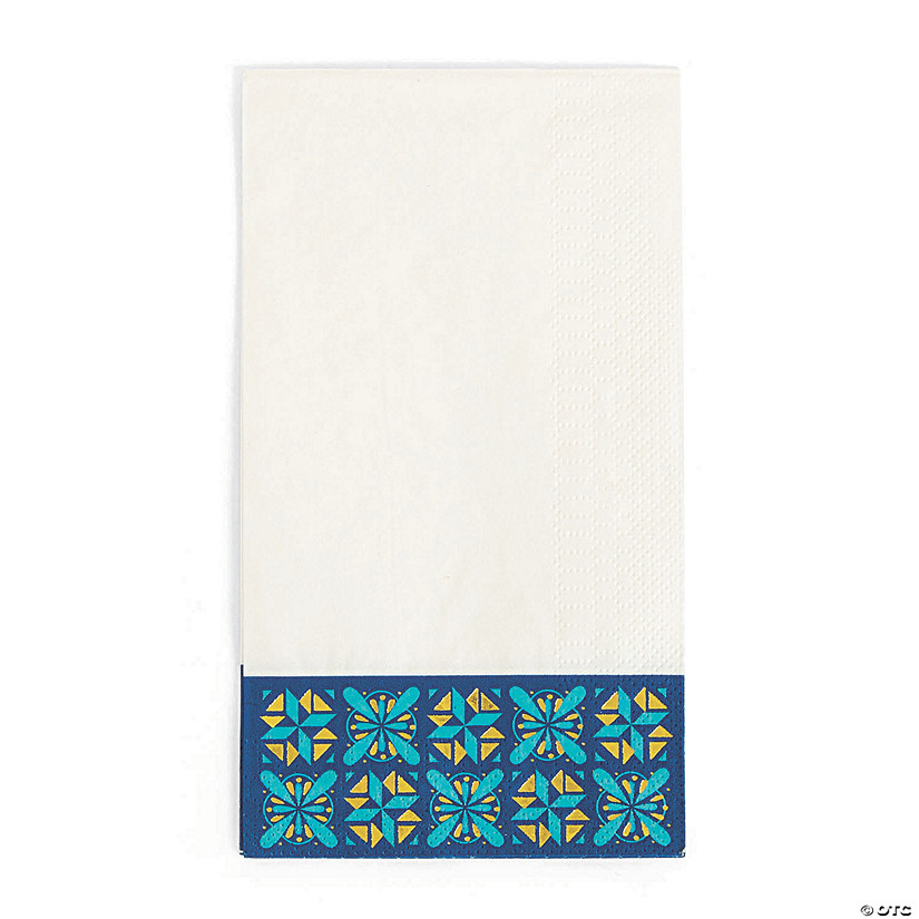 Mexican Floral Wedding Dinner Napkins Audio Thumbnail