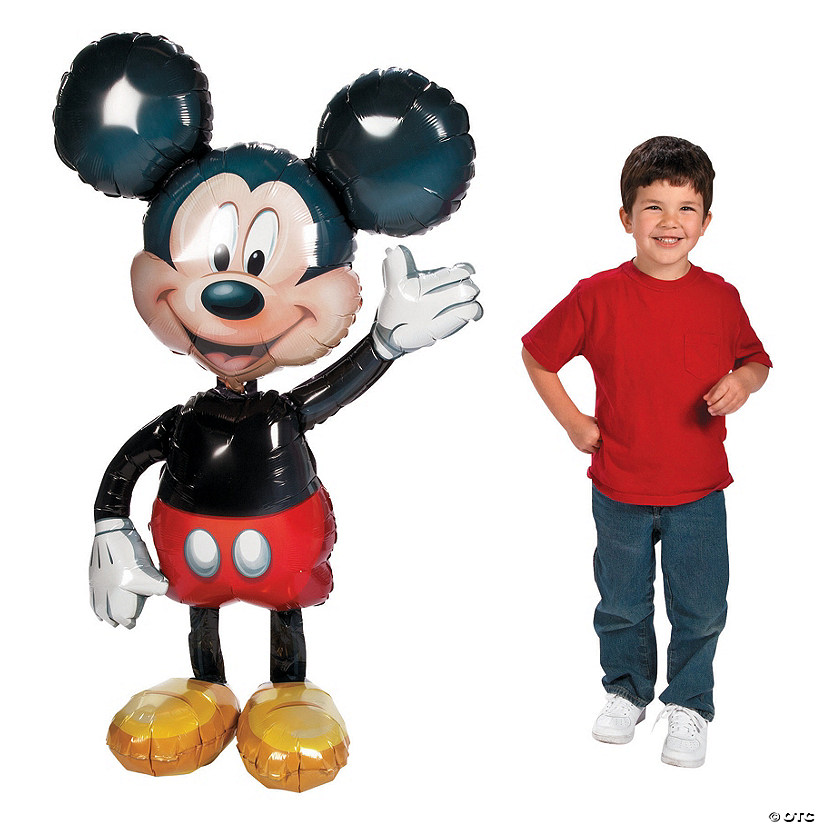 Mickey Mouse AirWalkers® Mylar Balloon Audio Thumbnail