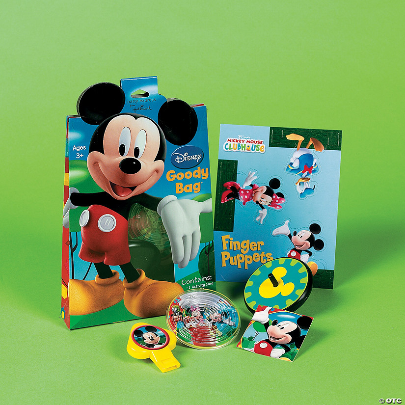 Mickey Mouse Clubhouse Filled Goody BagsR
