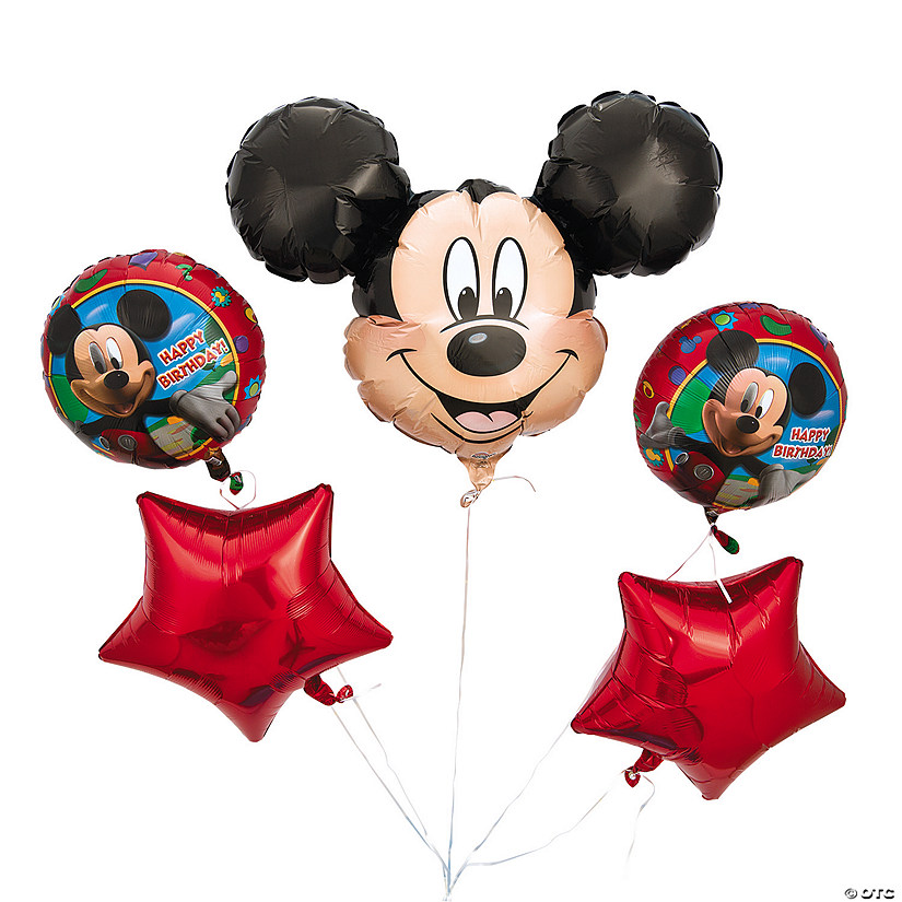 Mickey Mouse Mylar 10 Piece Balloon Bouquet  Audio Thumbnail