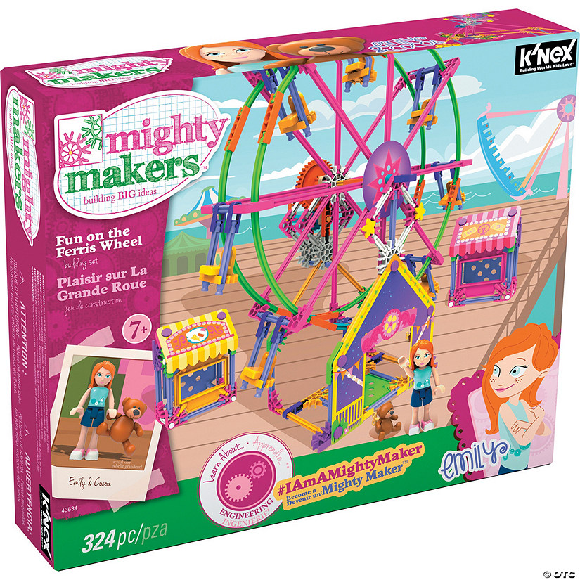 Mighty Makers Fun on the Ferris Wheel Building Set Image Thumbnail