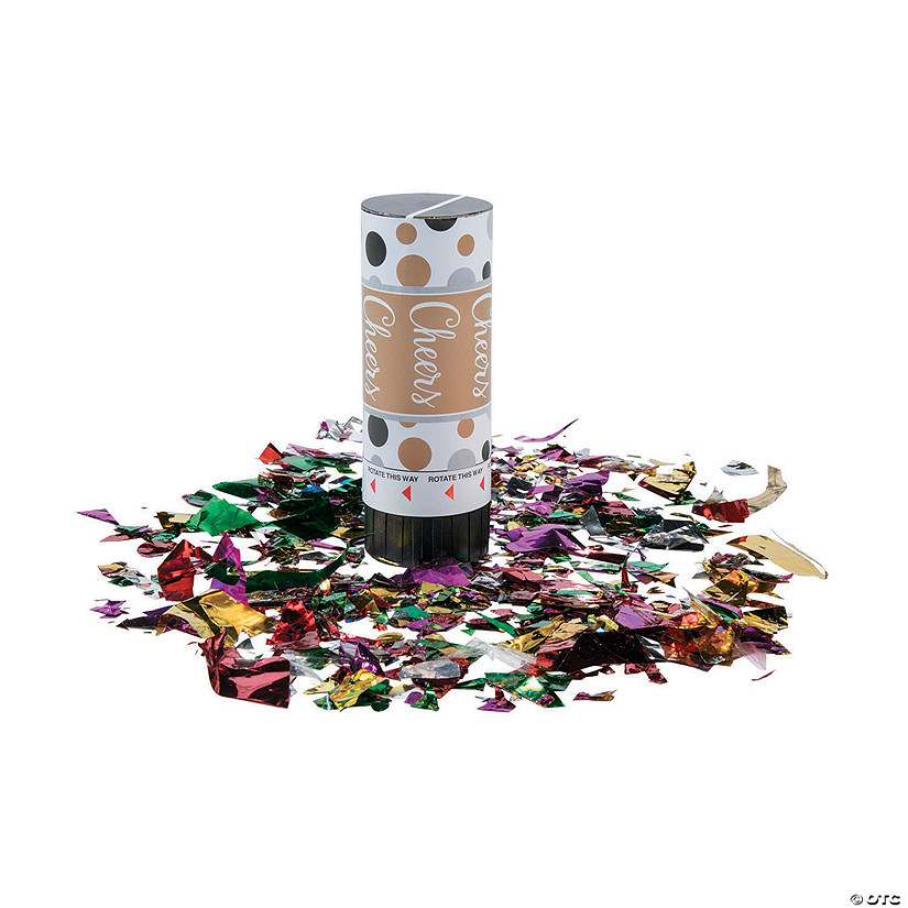 Milestone Party Poppers Image Thumbnail