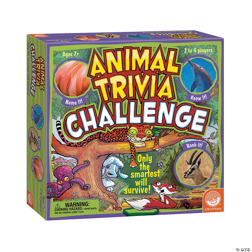 MindWare® Animal Trivia Challenge Game Audio Thumbnail