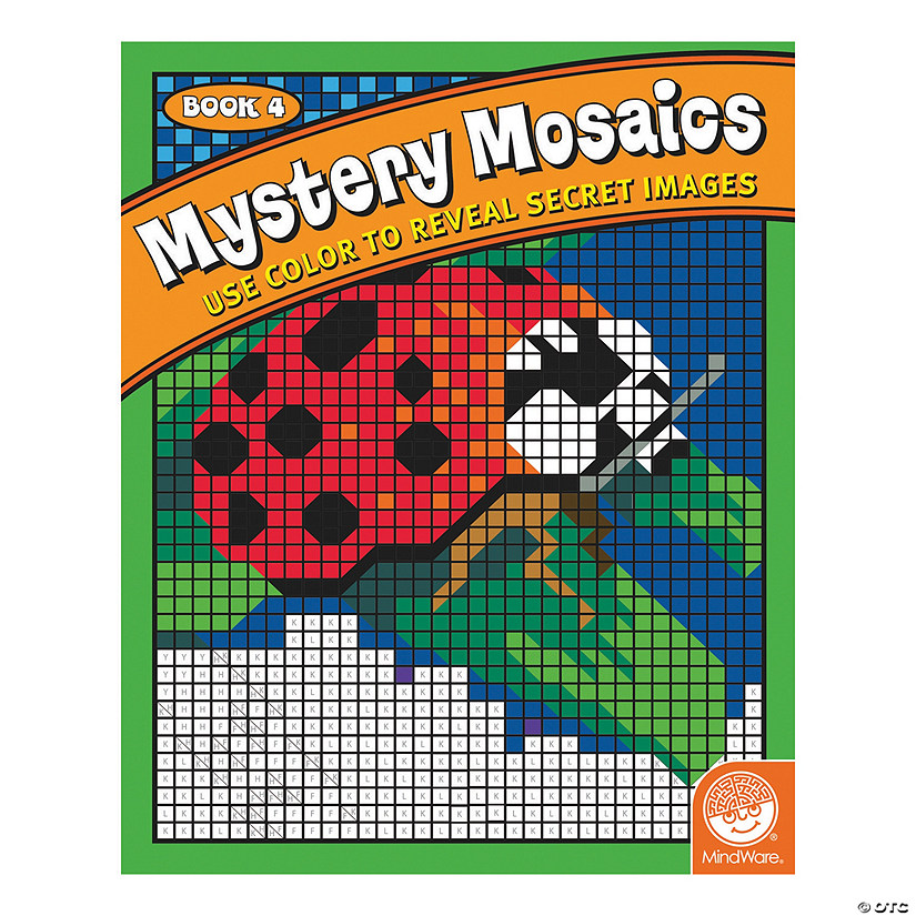 MindWare® Mystery Mosaics - Coloring Book 4