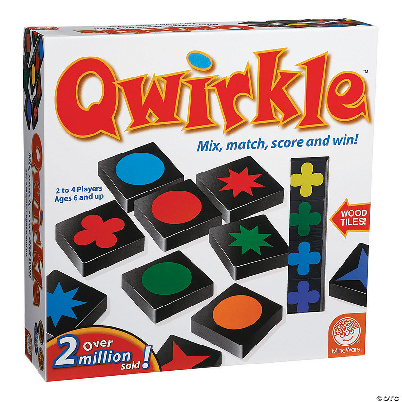 MindWare® Qwirkle Tile Game Audio Thumbnail