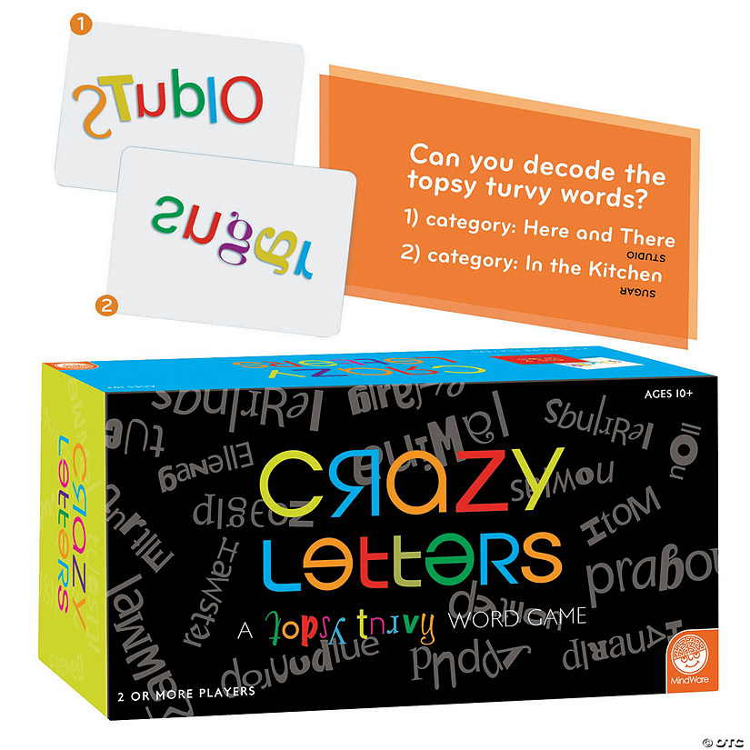 MindWare<sup>®</sup> Crazy Letters