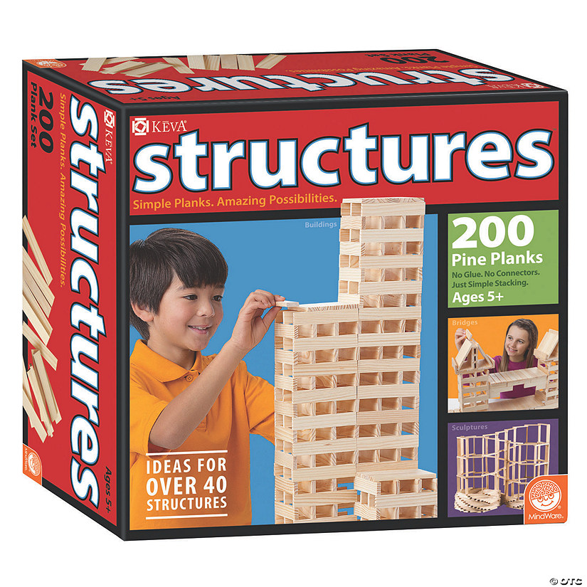 MindWare<sup>&#174;</sup> KEVA Structures 200 Plank Set Audio Thumbnail
