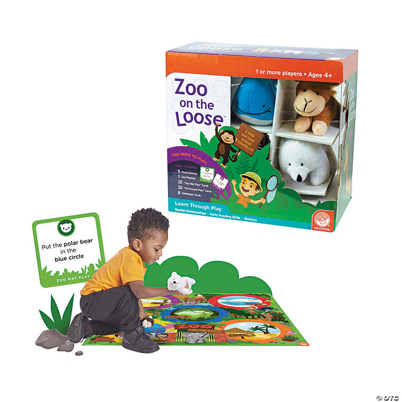 MindWare® Zoo on the Loose™ Card Game