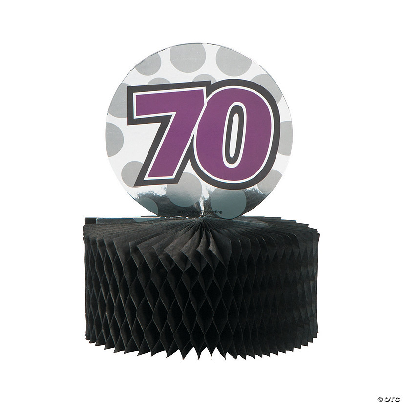 Mini 70th Birthday Centerpieces13774114