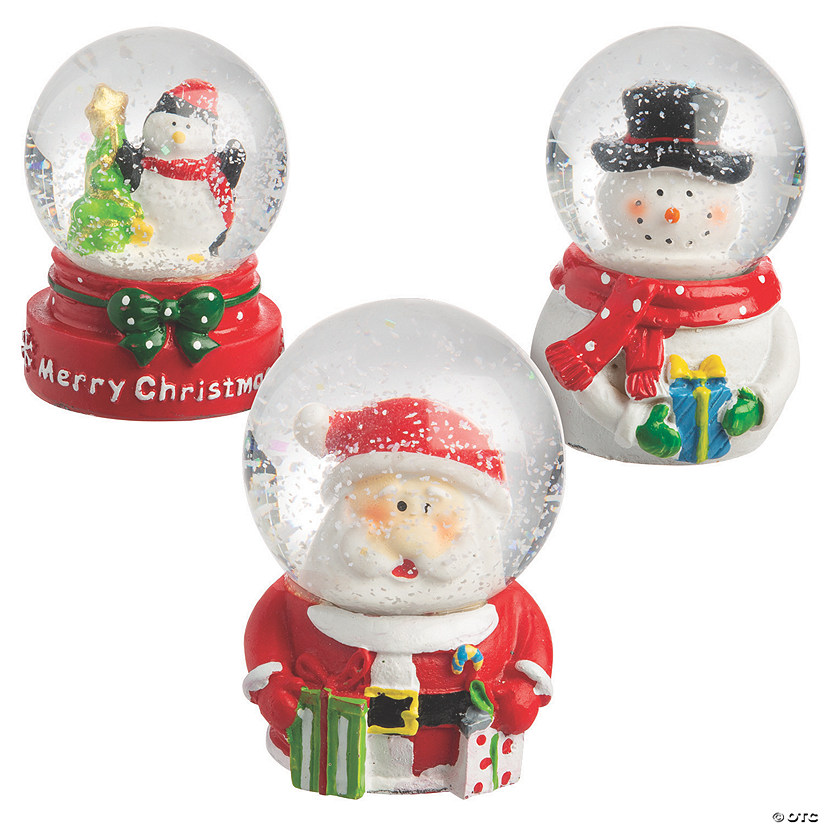 Mini Christmas Snow Globe Set Audio Thumbnail