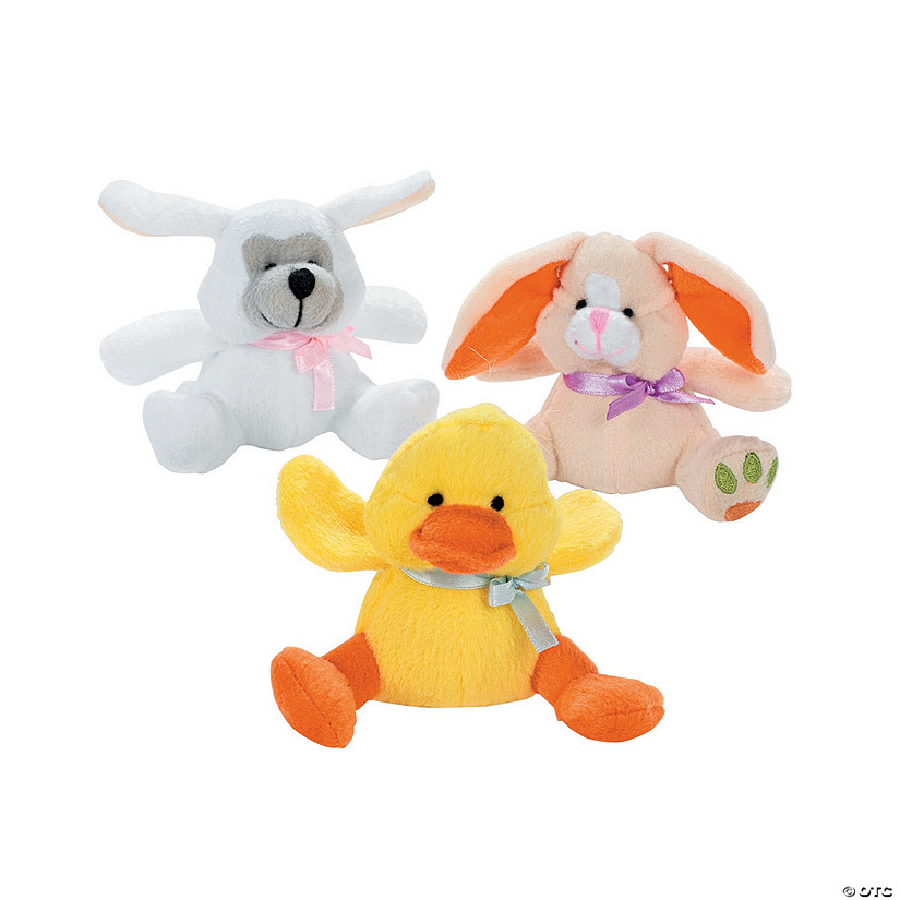 Mini Easter Stuffed Animal Assortment Image Thumbnail