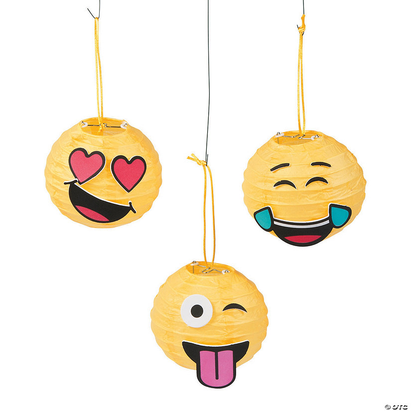 Mini Emoji Paper Lantern Craft Kit Audio Thumbnail