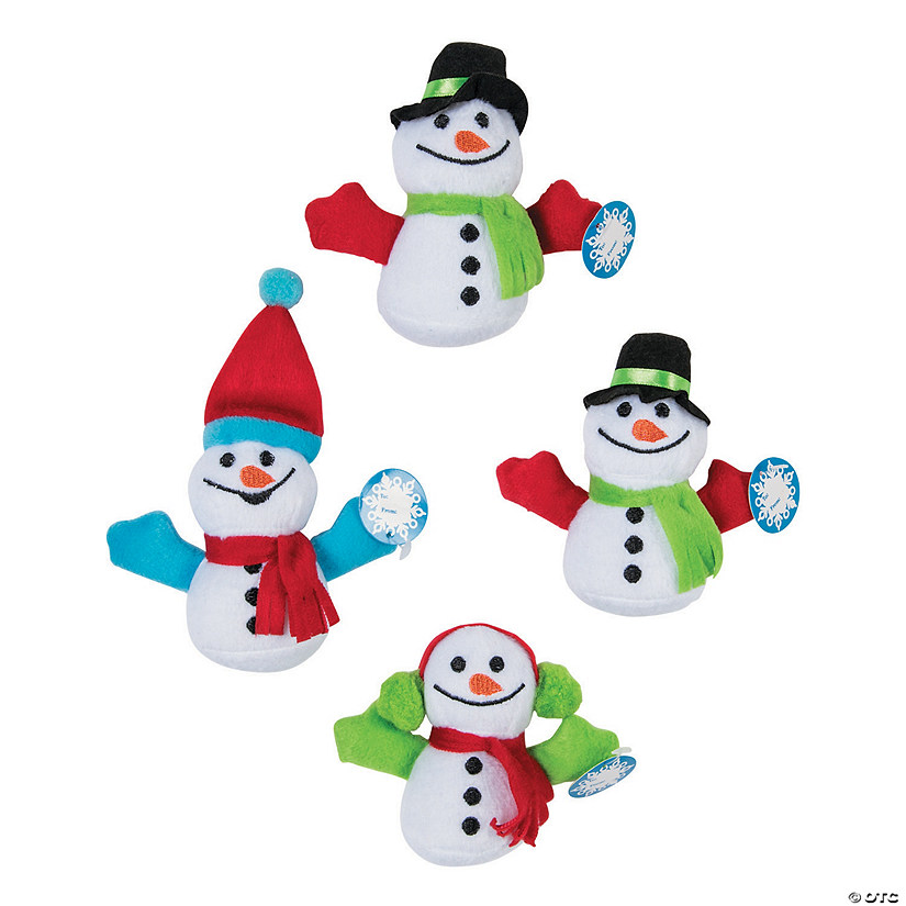 Mini Exchange Plush Snowmen Image Thumbnail