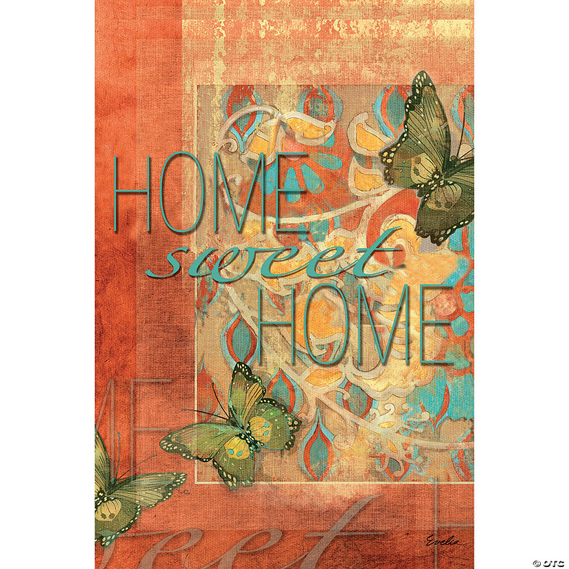 "Mini Garden Flag 12""X18""-Home Sweet Home"