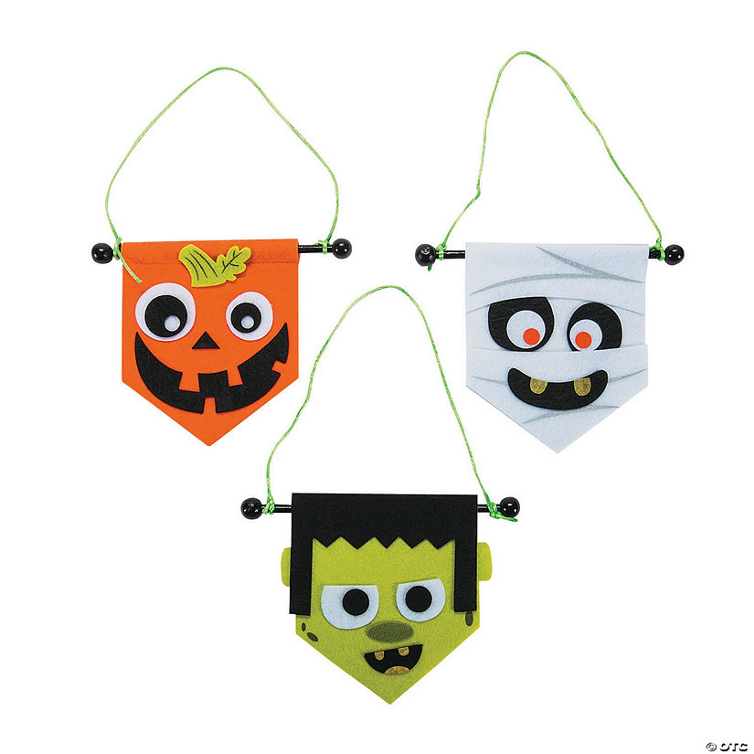 Mini Halloween Banner Craft Kit Audio Thumbnail