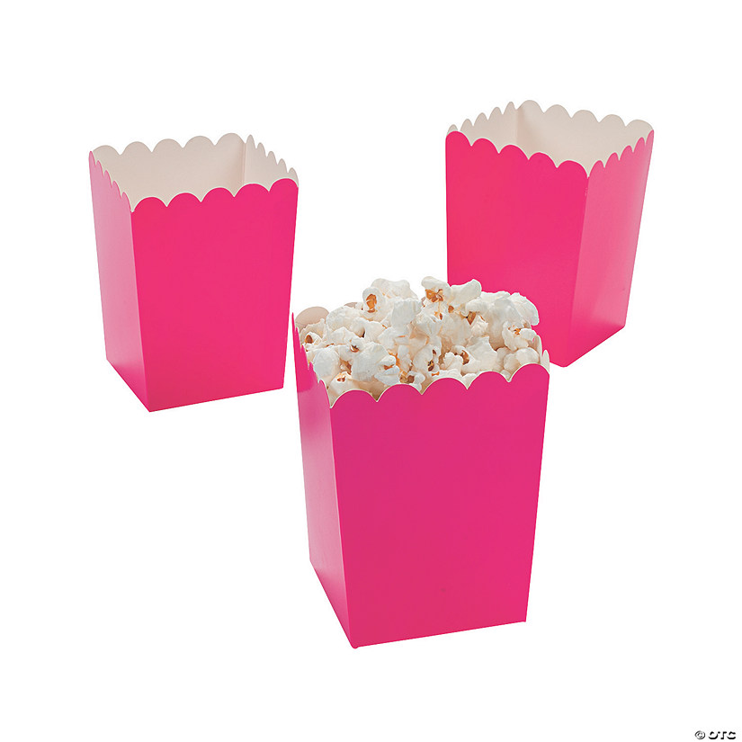 Mini Hot Pink Valentine Popcorn Boxes Audio Thumbnail