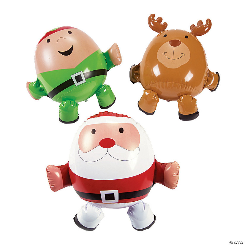 Mini Inflatable Christmas Characters Audio Thumbnail