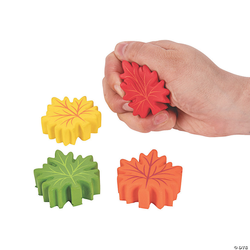 Mini Leaf-Shaped Stress Toys Audio Thumbnail