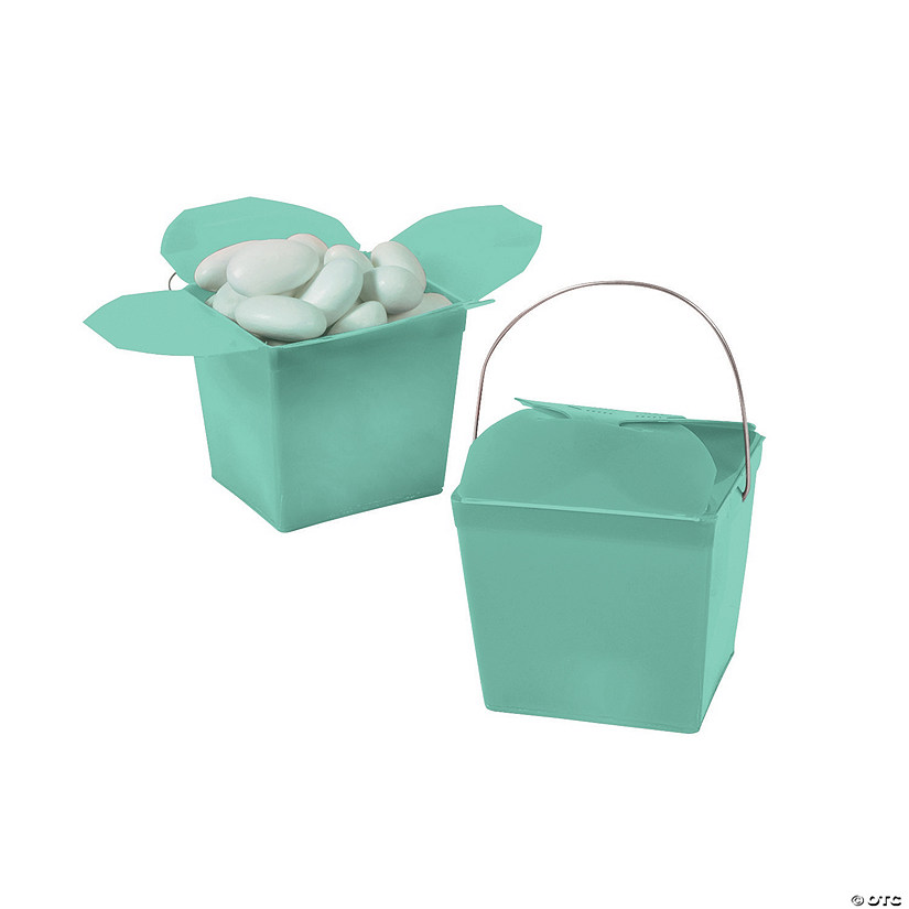 Mini Mint Green Takeout Boxes Audio Thumbnail