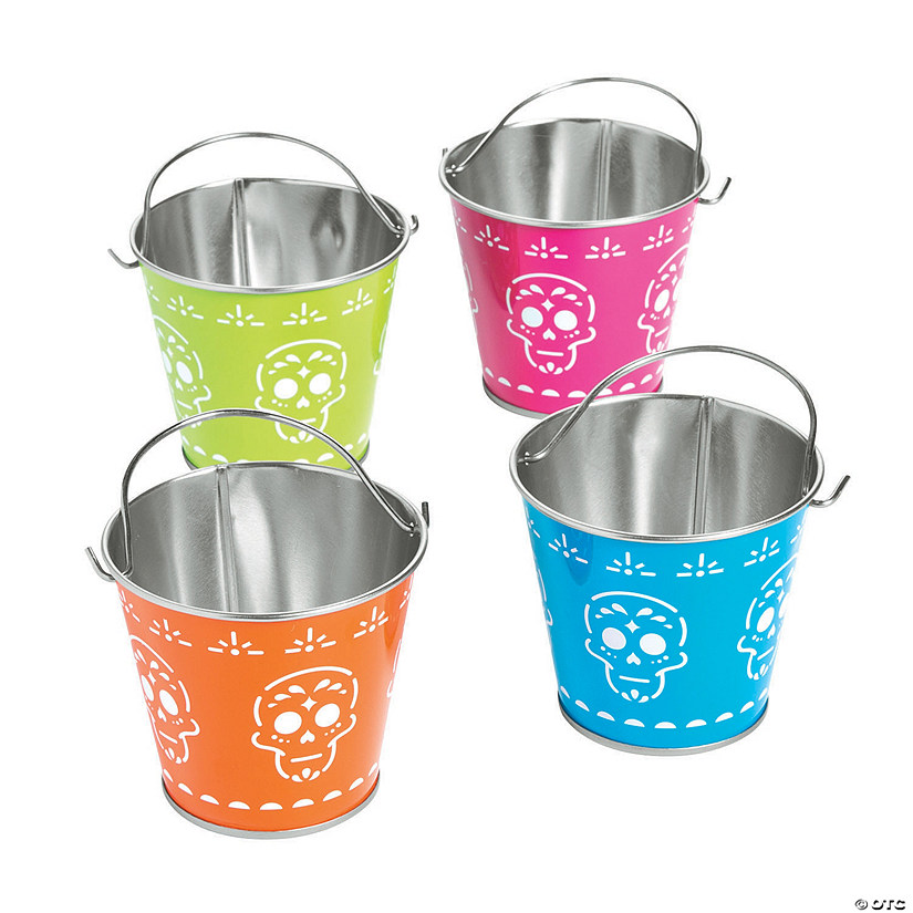 Mini Neon Day of the Dead Pails Audio Thumbnail