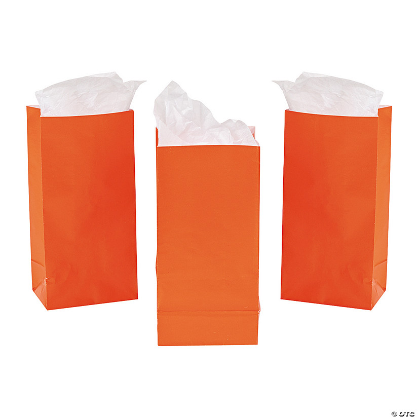 Mini Orange Treat Bags Audio Thumbnail