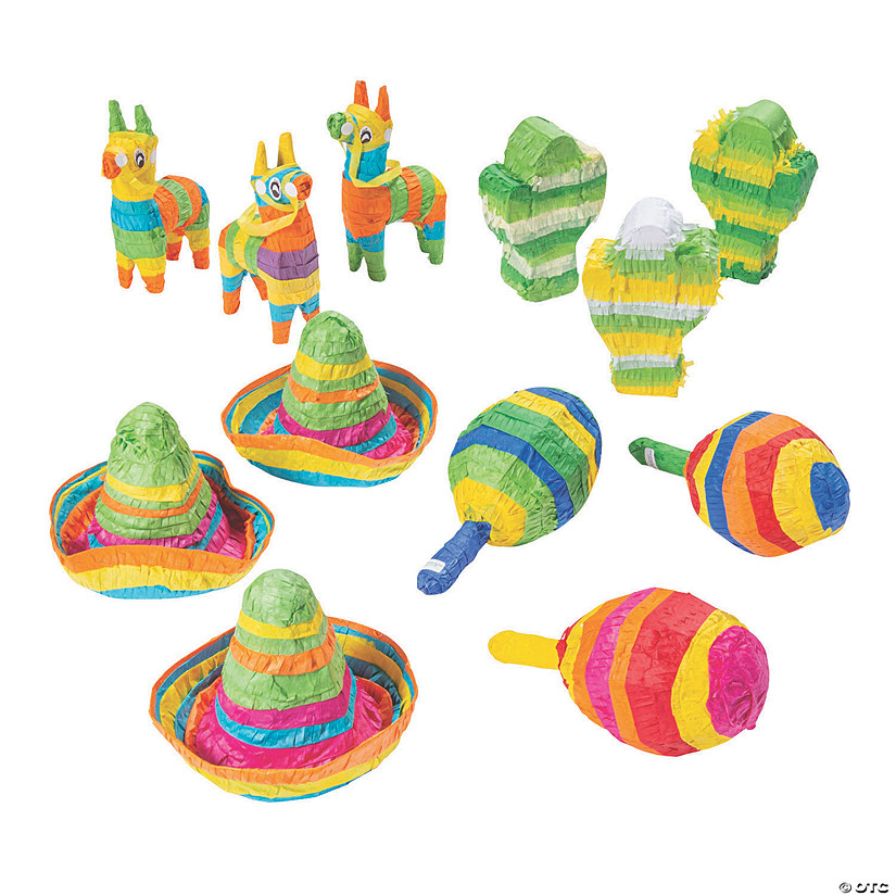 Mini Piñata Decoration Assortment Audio Thumbnail