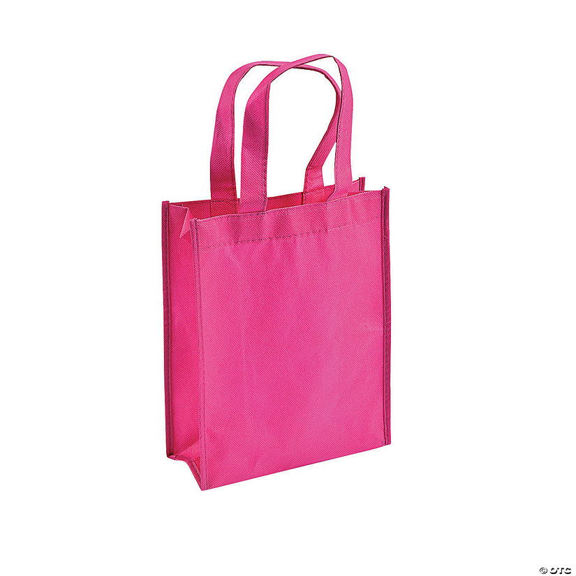 Mini Pink Shopper Tote Bags Audio Thumbnail