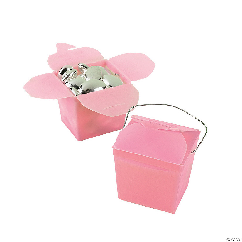 Mini Pink Takeout Boxes Audio Thumbnail