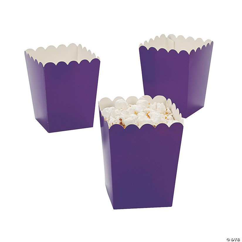 Mini Purple Popcorn Boxes Audio Thumbnail