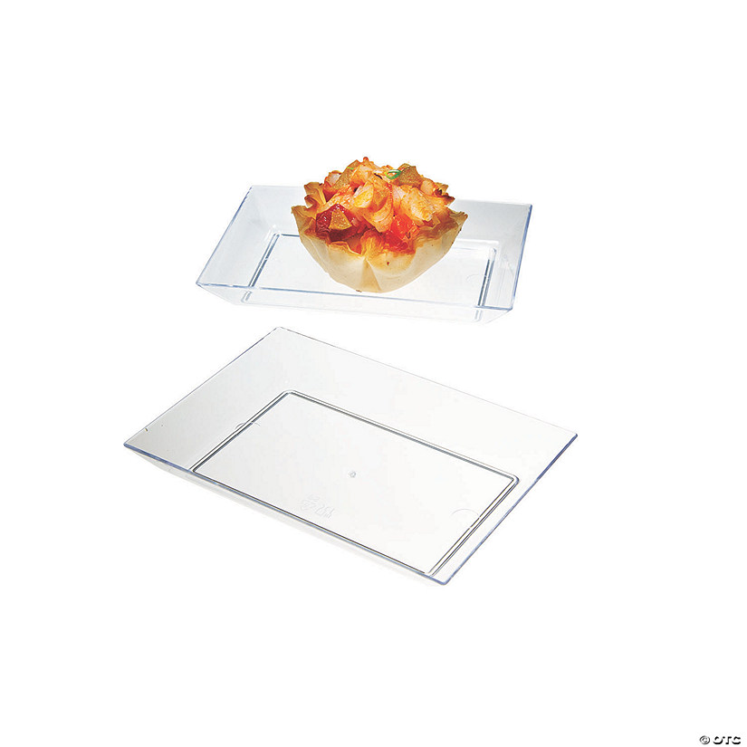 Mini Rectangular Plastic Dishes Audio Thumbnail