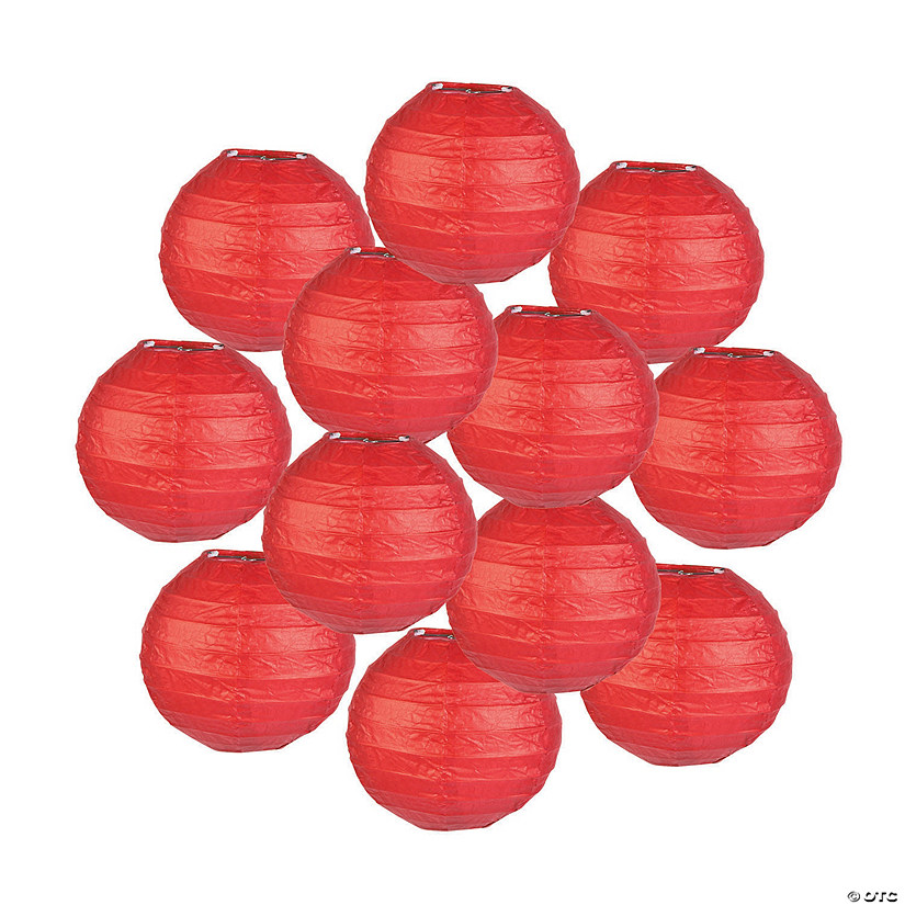 Mini Red Hanging Paper Lanterns Audio Thumbnail