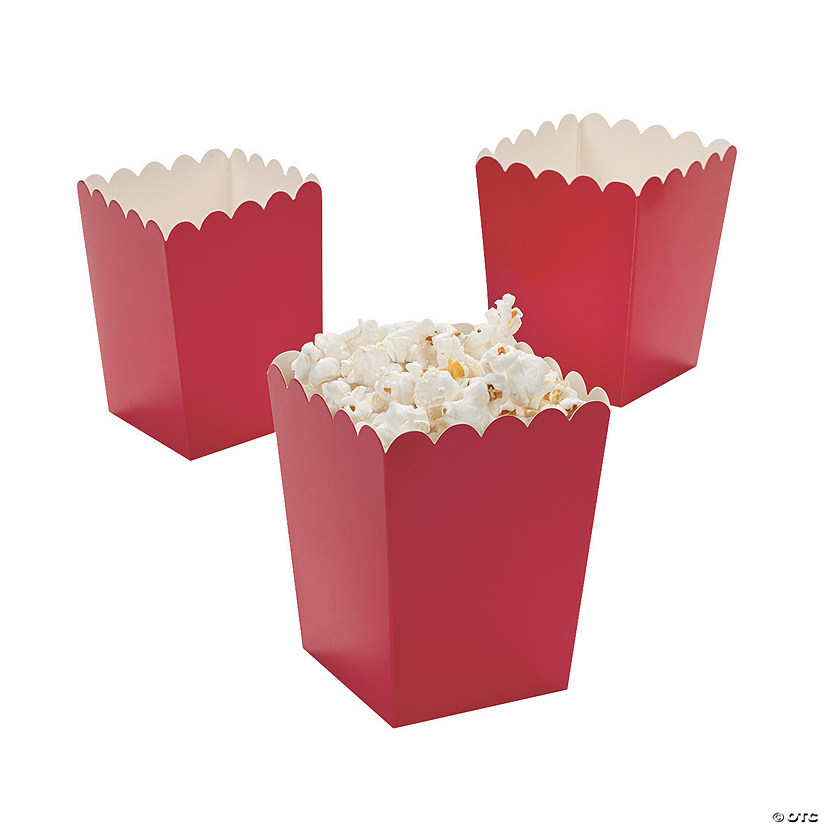 Mini Red Popcorn Boxes Audio Thumbnail