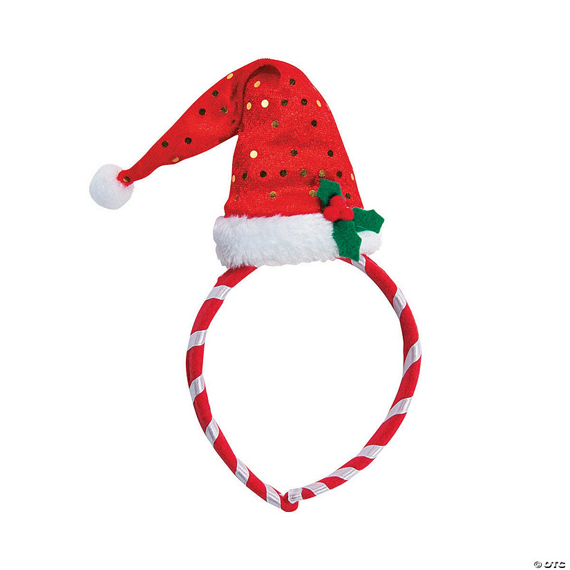 Mini Santa Hat Headbands Audio Thumbnail