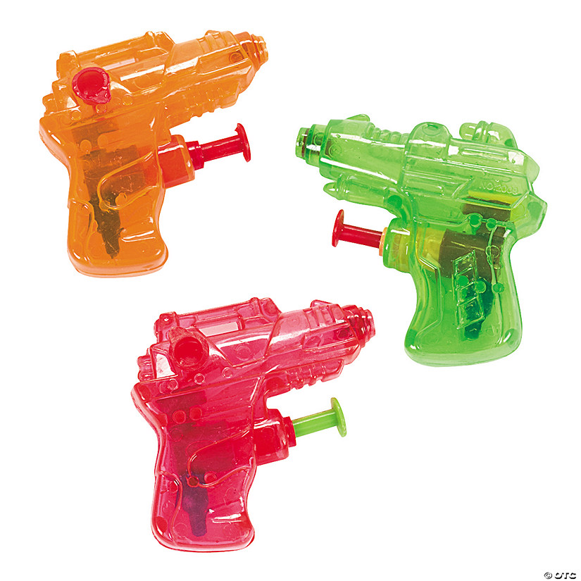 Mini Squirt Gun Assortment Audio Thumbnail