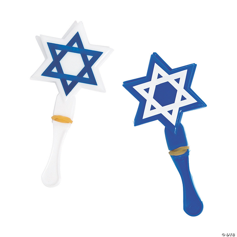 Mini Star of David Hand Clappers