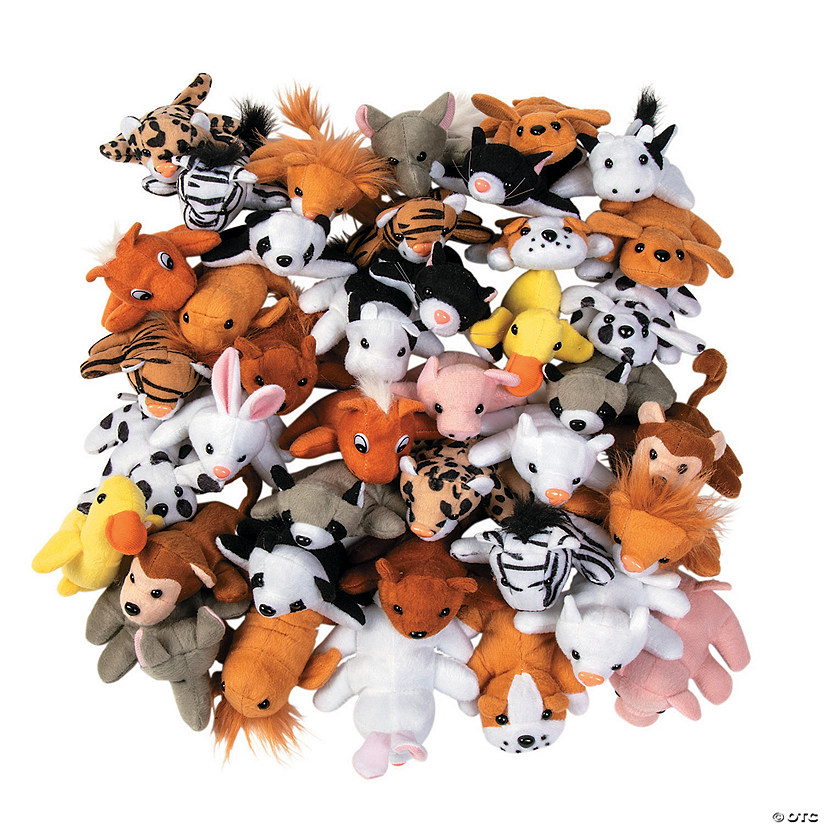 Mini Stuffed Animal Assortment Image Thumbnail