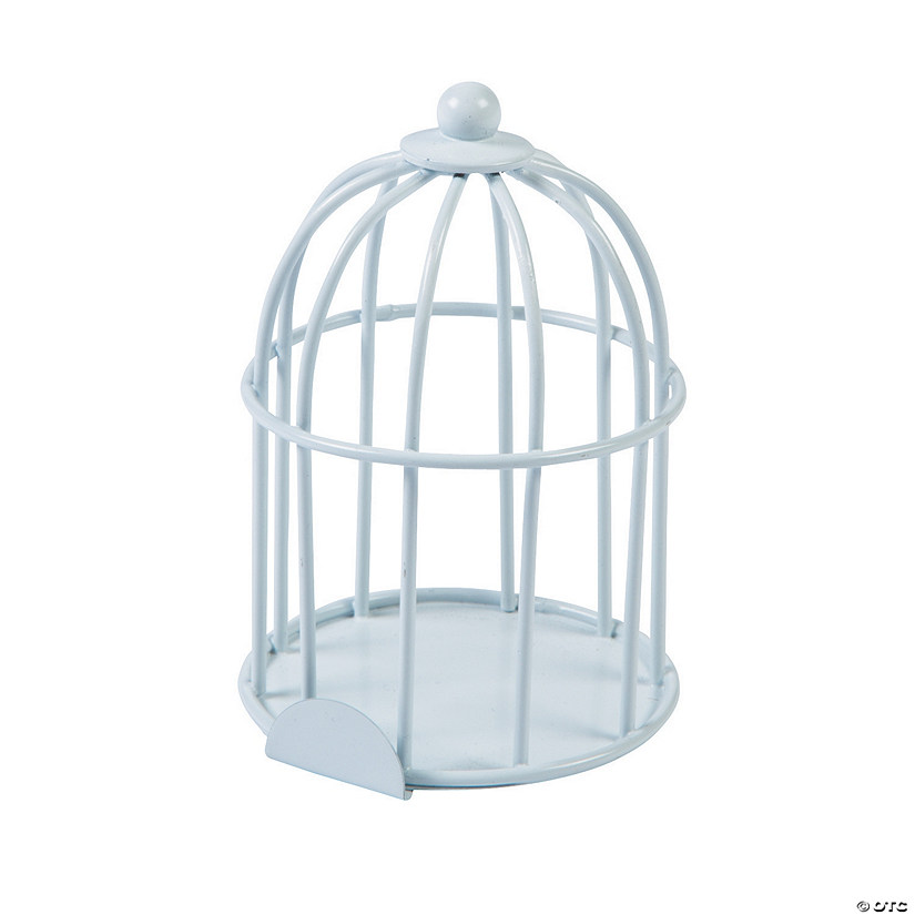Mini White Birdcages