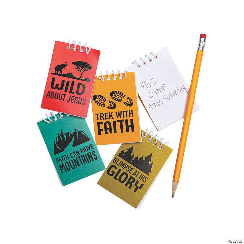 Mini Wild Encounters VBS Spiral Notepads Audio Thumbnail