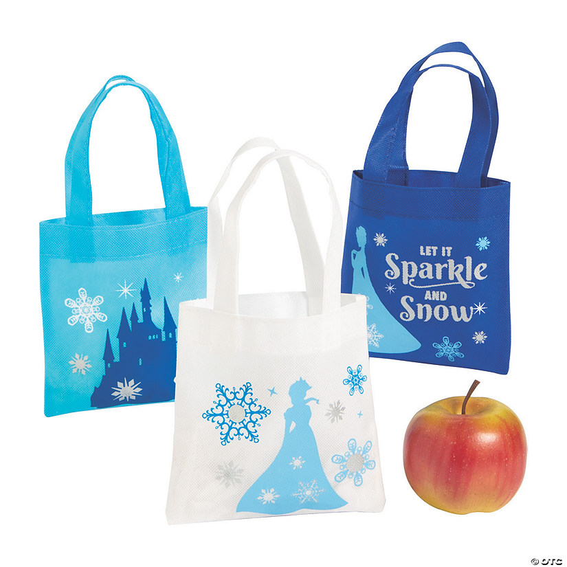 Mini Winter Princess Tote Bags Audio Thumbnail