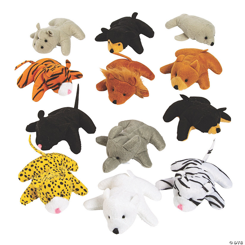 Mini Zoo Stuffed Animal Assortment - 25 Pc. Audio Thumbnail