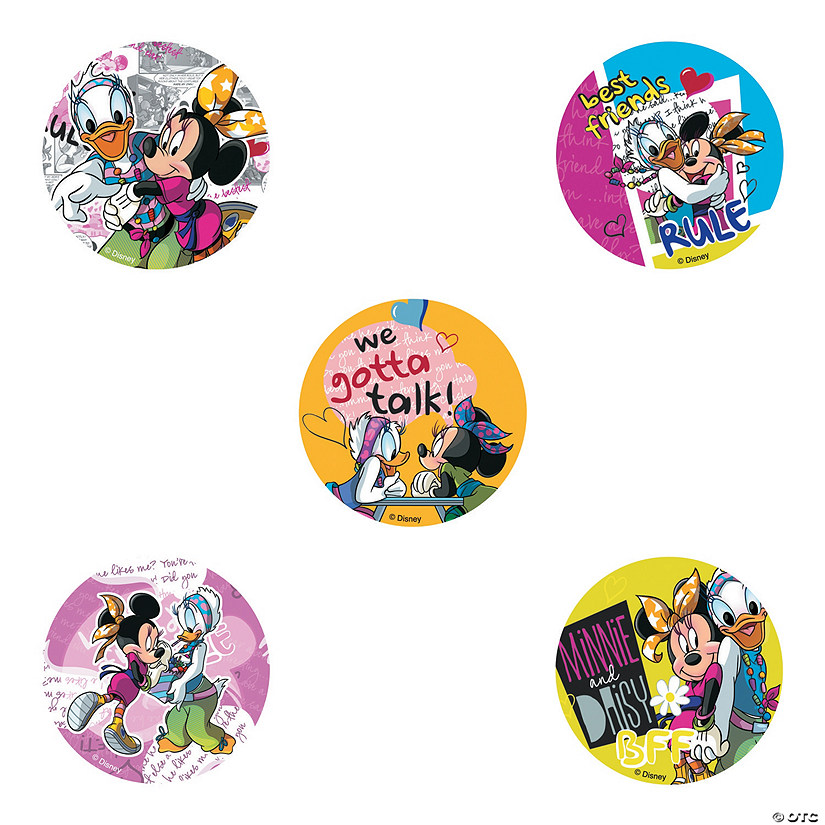 Minnie Mouse Daisy Duck Stickers