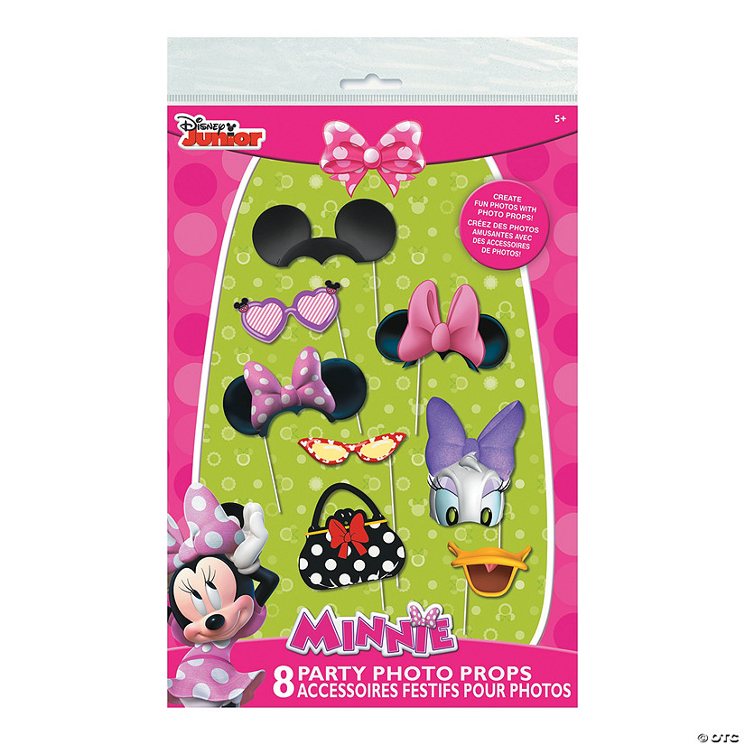 Minnie Mouse Photo Stick Props