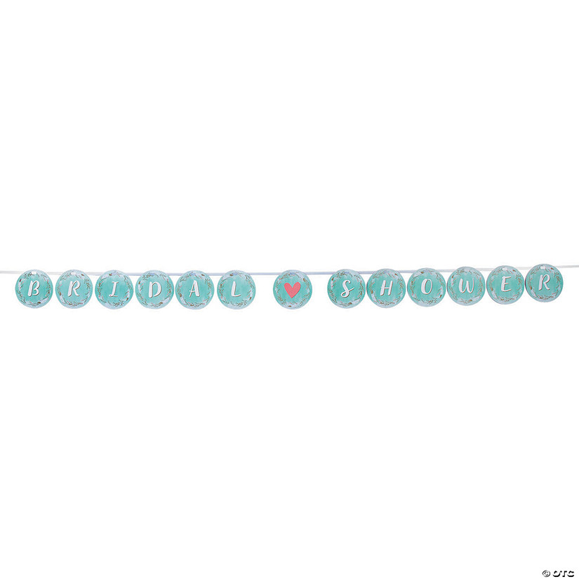 Mint Green Bridal Shower Ribbon Garland Audio Thumbnail