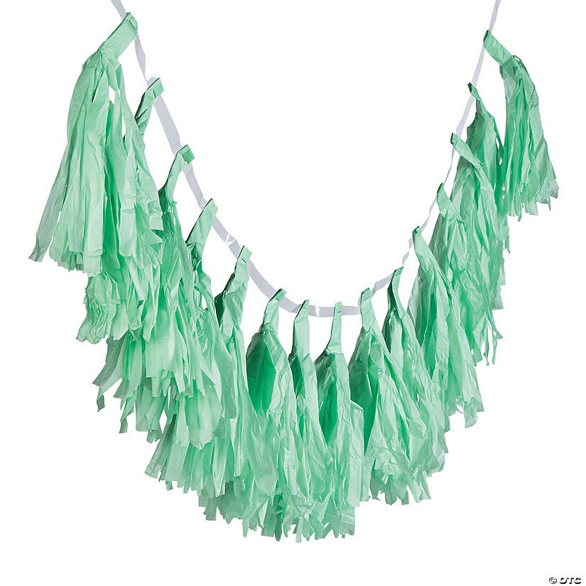Mint Green Tassel Garland