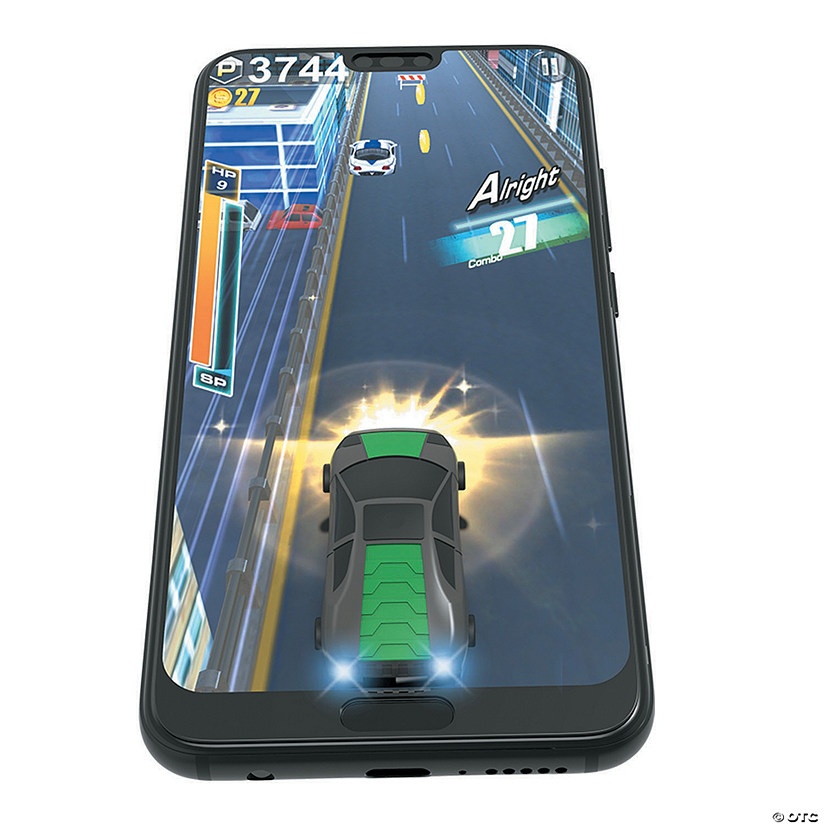 Mobile Arcade Virtual Racer: Black/Green Audio Thumbnail