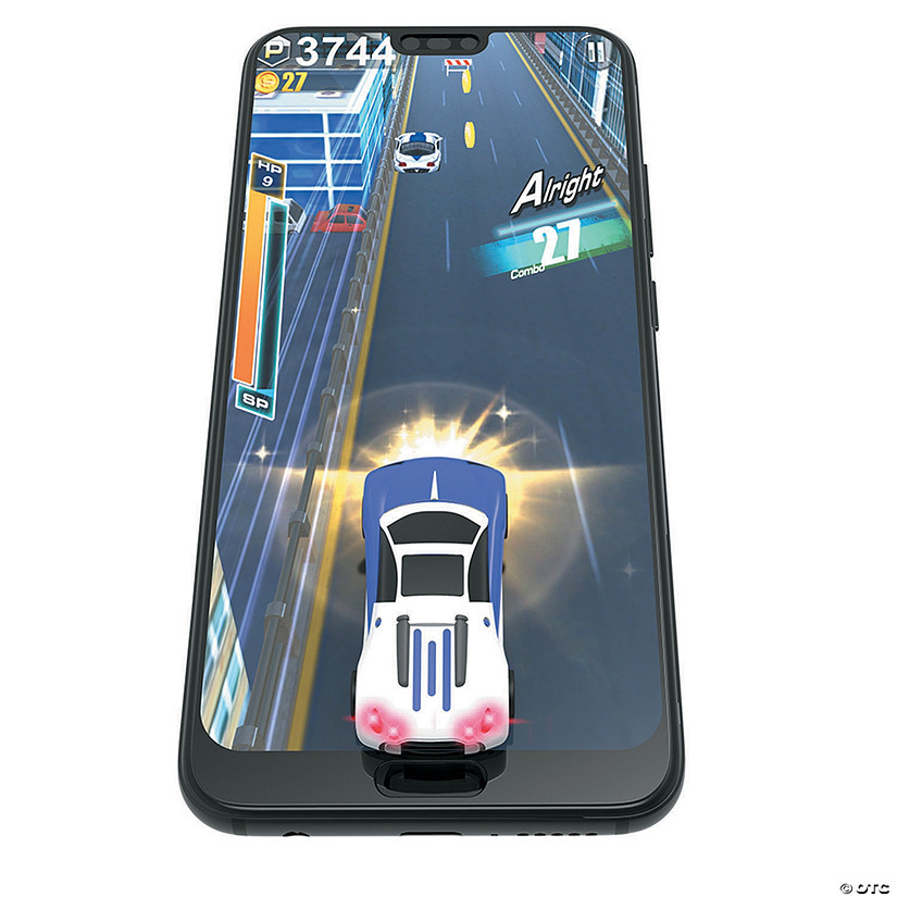 Mobile Arcade Virtual Racer: Purple/White Image Thumbnail