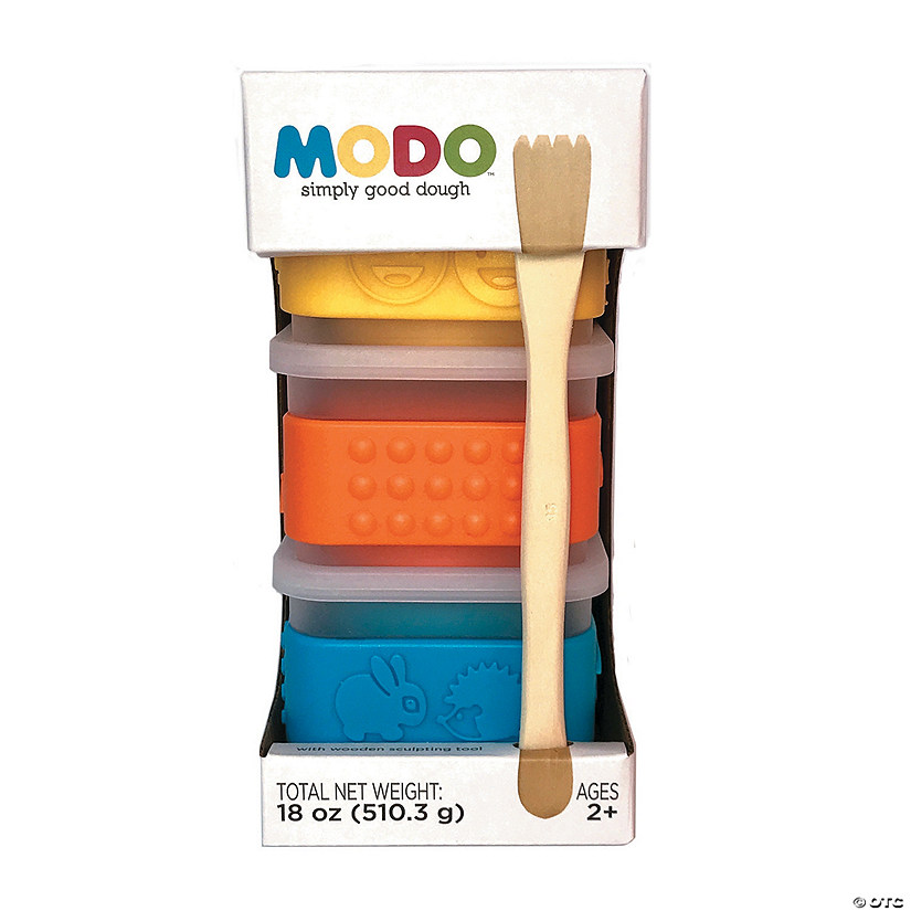 MoDo Dough: Yellow, Blue, Orange