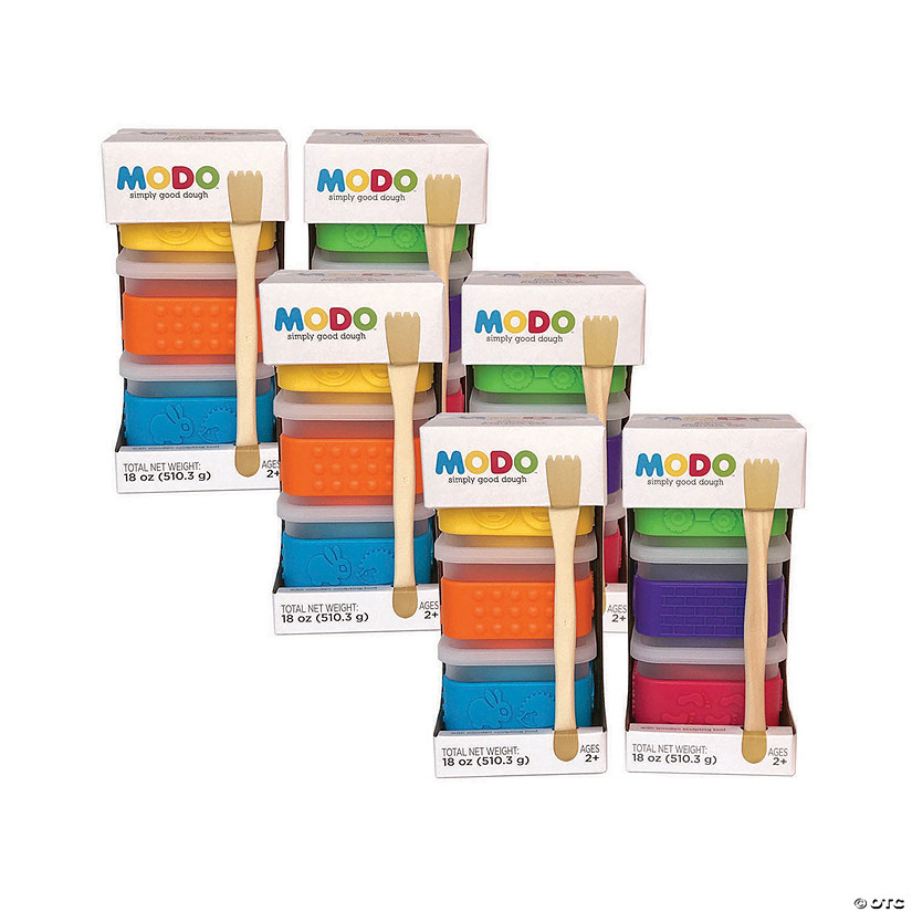 MODO Play Dough Set of 6 Audio Thumbnail
